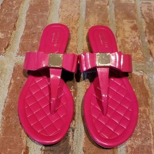 Cole Haan Tali Bow Flat Sandals